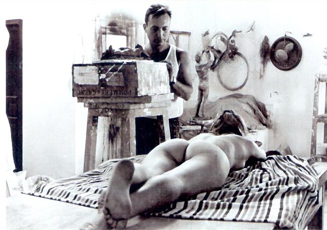 Jaime Pimentel - Trabajando con modelo