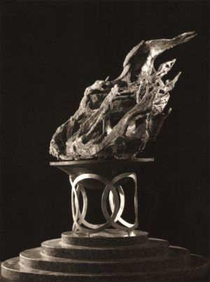 Llama olímpica - Maqueta de monumento al deporte