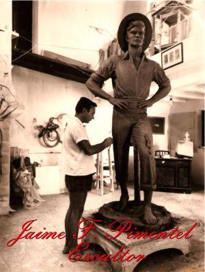 Jaime F. Pimetel, Escultor - Cenachero Málaga